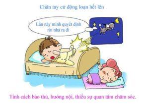 Dự đoán tính cách qua kiểu nằm ngủ