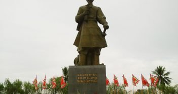 Tran Hung Dao Statue in Nam Dinh City of Vietnam