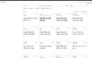 Chuyển đổi font chữ đẹp online